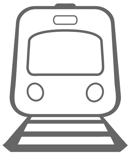 icon of train